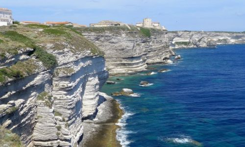 Zdjecie FRANCJA / Korsyka / Bonifacio / klify ....