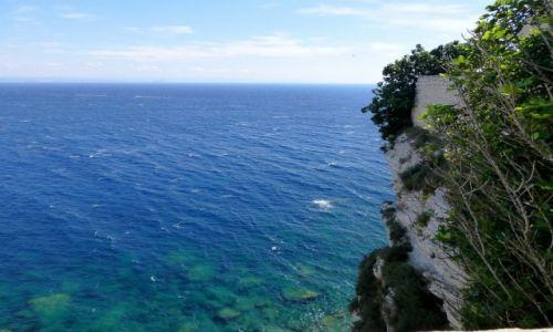 Zdjecie FRANCJA / Korsyka / Bonifacio / z wysokości klifu