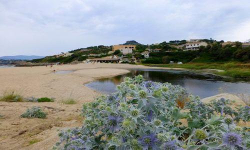 Zdj�cie FRANCJA / Korsyka / nad Zatok� de Liscia / pla�a nad Golfe de Liscia