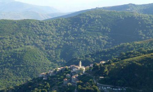 Zdjęcie FRANCJA / Korsyka / w głębi wyspy / w drodze do Murato
