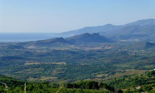 Zdjęcie FRANCJA / Korsyka / w drodze z Murato do Bastii / po drodze do Bastii