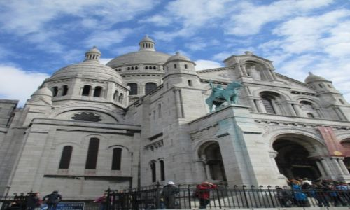 Zdjecie FRANCJA / Paryż / Paryż / Bazylika Sacre Coeur