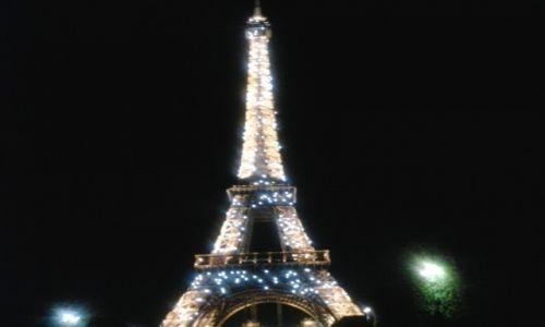 Zdjęcie FRANCJA / Centre / Paryż / Wieża Eiffla nocą