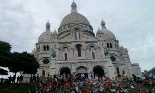Zdjęcie FRANCJA / Centre / Paryż / sacre coeur