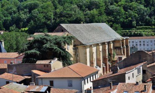 Zdjęcie FRANCJA / Midi-Pyrénées / Foix / Foix, opactwo
