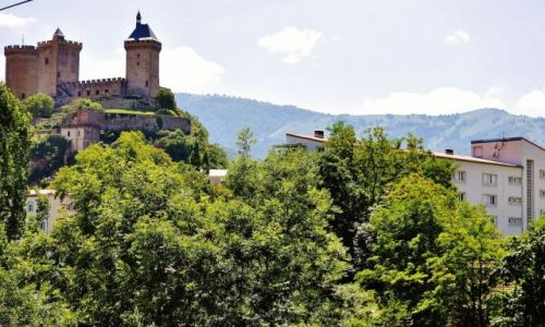 FRANCJA / Midi-Pyrénées / Foix / Foix