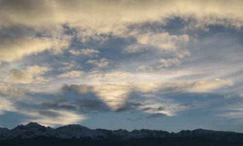 Zdjecie FRANCJA / Rodan-Alpy / Masyw Belledonne / serce w chmurach