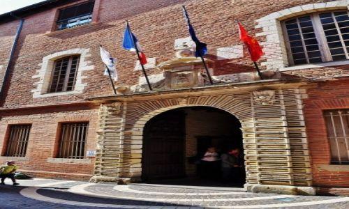 Zdjęcie FRANCJA / Provence / Albi / Albi, stary ratusz