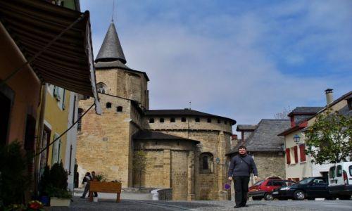 Zdjęcie FRANCJA / Midi-Pyrénées / Saint-Savin / Saint-Savin, kościół