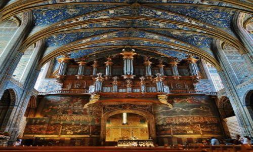 Zdjęcie FRANCJA / Midi-Pyrénées / Albi / Albi, Katedra