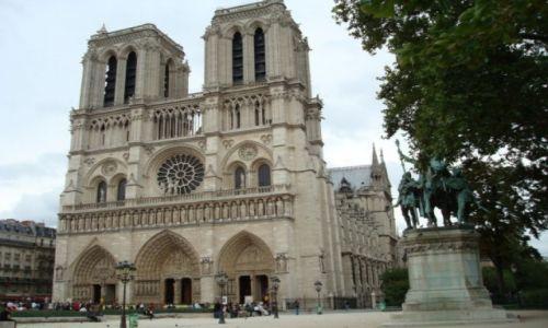 Zdjecie FRANCJA / Paryż / Paryż / Katedra Notre Dame
