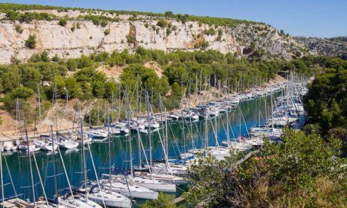 Zdjęcie FRANCJA / Cote d Azur / Okolice Cassis / Port-Miou