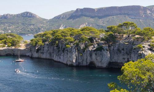 Zdjęcie FRANCJA / Lazurowe Wybrzeże / okolice Cassis / Kalanka Port Miou