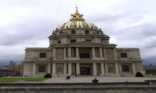 Zdjecie FRANCJA / brak / Paryż, Pałan Inwalidów / Pałac Inwalidów, Paryż