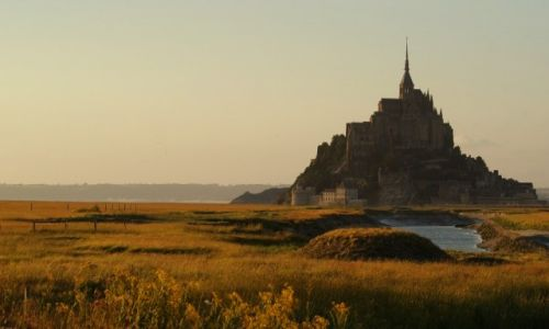 Zdjęcie FRANCJA / Normandia / Mont-Saint-Michel / Abbaye du Mont-Saint-Michel