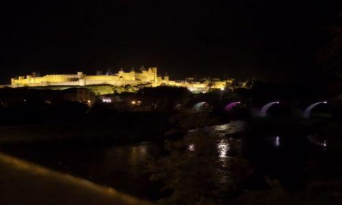 FRANCJA / Langwedocja / Carcassonne / Carcassonne noca