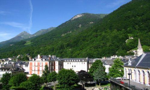 Zdjęcie FRANCJA / Midi-Pyrenees / Cauterets / panorama Cauterets