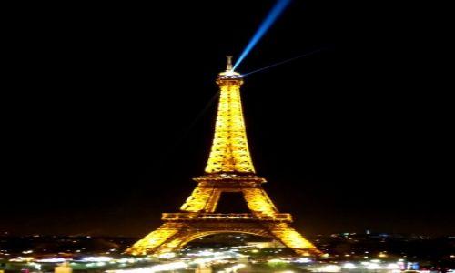 Zdjecie FRANCJA / Paryż / Paryż / Paryż nocą