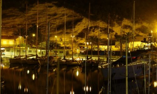Zdjęcie FRANCJA / Korsyka / Bonifacio / Bonifacio nocą
