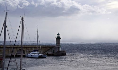 Zdj�cie FRANCJA / Korsyka / Bastia / Bastia - molo