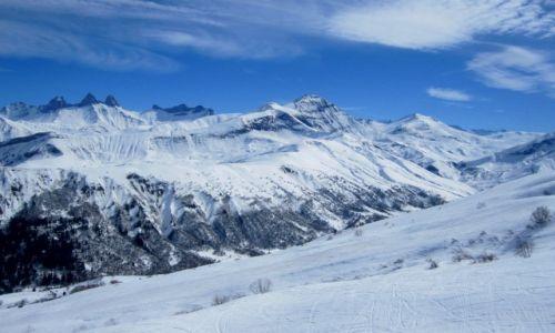 Zdjecie FRANCJA / Alpes de Savoie / Les Sybelles / zima po francusku...