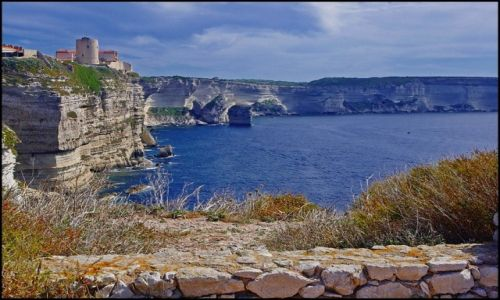 Zdj�cie FRANCJA / Korsyka / Bonifacio / Bonifacio