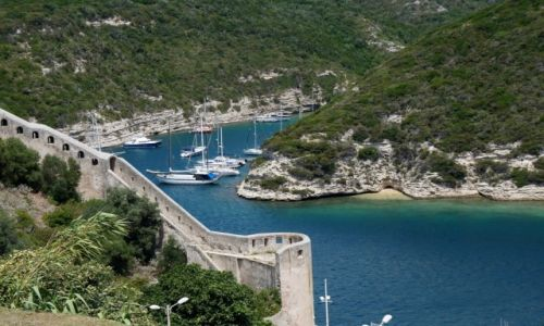 Zdj�cie FRANCJA / Korsyka / Bonifacio / Zatoka