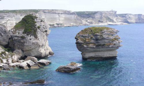 Zdjęcie FRANCJA / Korsyka / Bonifacio / skrawek nieba
