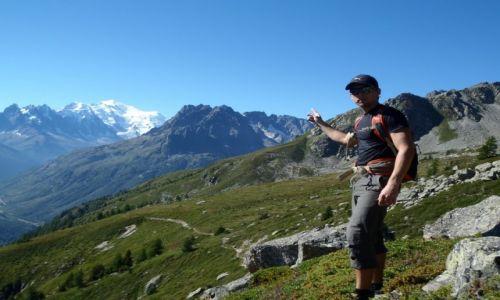 Zdjecie FRANCJA / Chamonix / Chamonix / Ta kupa śniegu to Mont Blanc ?