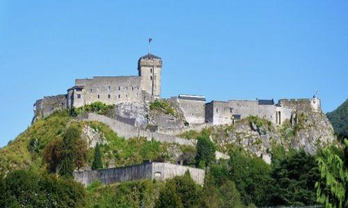 Zdjęcie FRANCJA / Bigorre, Midi-Pyrénées / Lourdes / Lourdes, Château fort