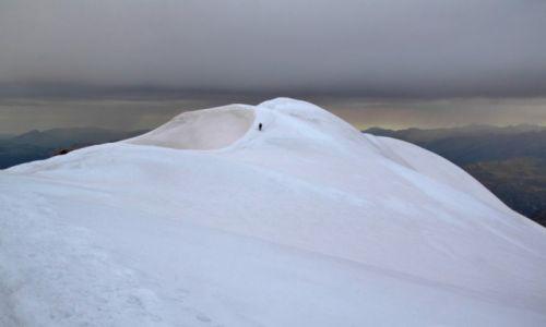 Zdjecie FRANCJA / Alpy / droga z Mt. Blanc / Szczyt
