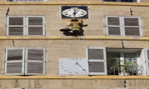 Zdjęcie FRANCJA / Prowansja / Aix en Provence / Zegary