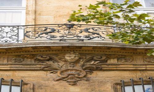 Zdjęcie FRANCJA / Prowansja / Aix en Provence / Balkon