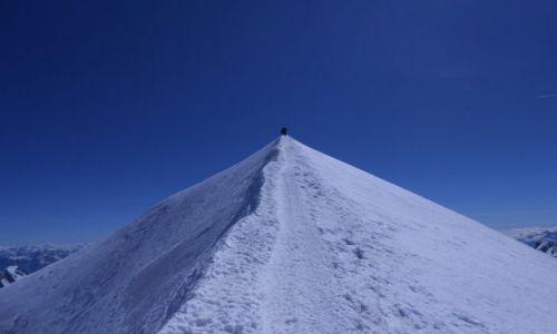 Zdjecie FRANCJA / Mont Blanc / Mont Blanc / Ostatnia prosta Mont Blanc