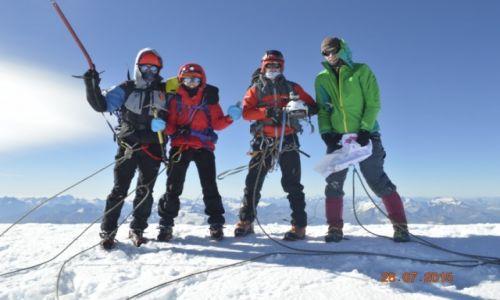 Zdjecie FRANCJA / Chamonix / Mt. Blanc / Szczytujemy