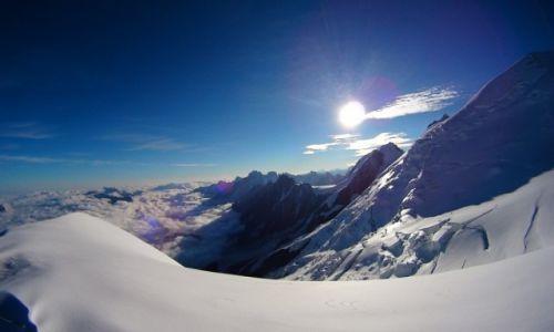 Zdjecie FRANCJA / Chamonix / Mt. Blanc / Nad Goutierem