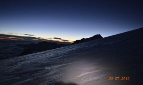 Zdjecie FRANCJA / Chamonix / Mt. Blanc / Poranek