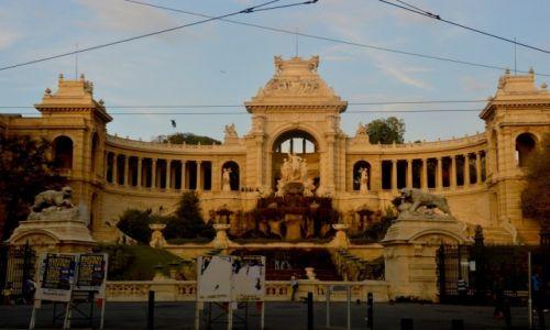 Zdjęcie FRANCJA / Prowansja / Marsylia / Palais Longchamp