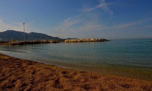 Zdjęcie FRANCJA / Prowansja / Marsylia / Zwykła plaża w Marsylii