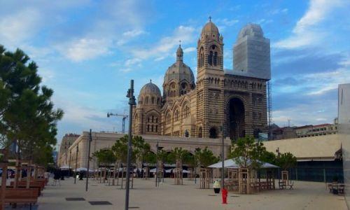 Zdjęcie FRANCJA / Prowansja / Marsylia / Katedra de La major
