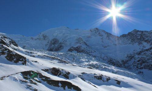 Zdjecie FRANCJA / -alpy / les hoches / Mont Blanc