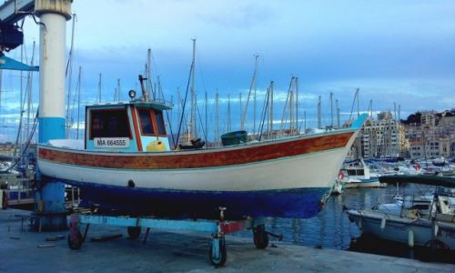 Zdjęcie FRANCJA / Prowansja / Marsylia /  Vieux port