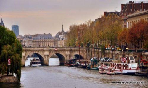 Zdjecie FRANCJA / Paryż / Nad Sekwaną / Paryskie impresje jesienne