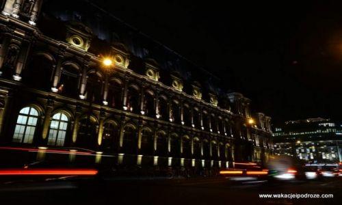 Zdjecie FRANCJA / Paryż / Nad Sekwaną / Paryż nocą