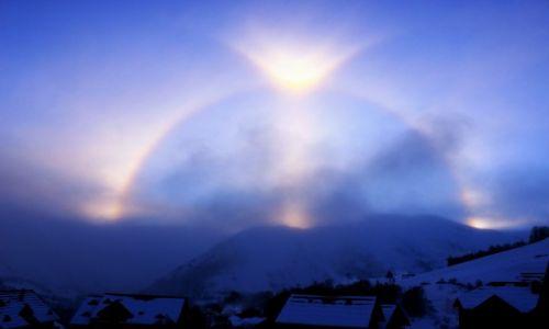 Zdjecie FRANCJA / Alpy / Les Sybelles / Oko Boga
