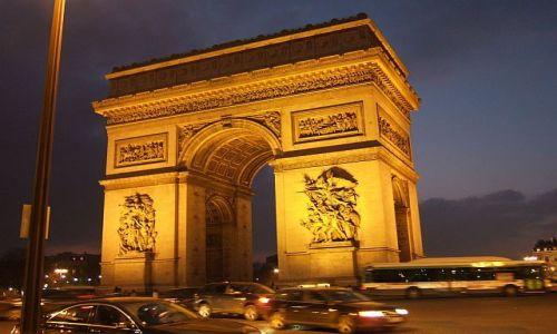 Zdjęcie FRANCJA / Paryż / Paryz / Łuk Triumfalny