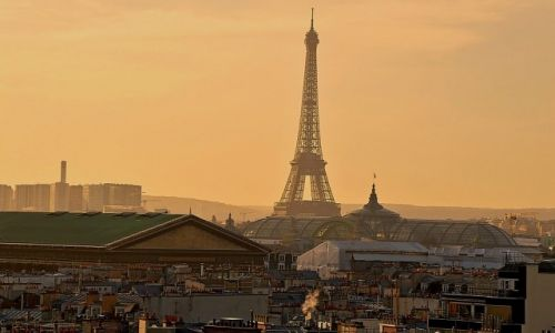 Zdjecie FRANCJA / Francja / Paryż / Nad Paryżem