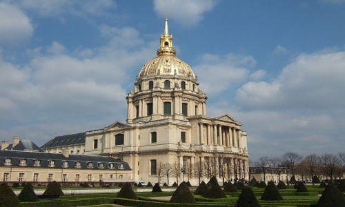 Zdjecie FRANCJA / Francja / Paryz / pałac inwalidów