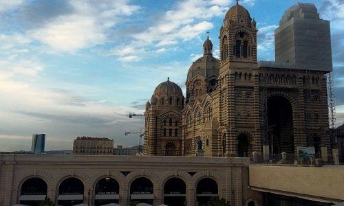 Zdjęcie FRANCJA / Prowansja / Marsylia / Katedra La Major