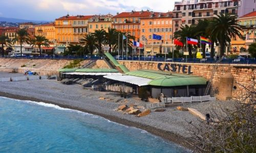 Zdjecie FRANCJA / - / Nicea / Lazurowe wybrzeże